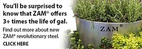 ZAM® Steel – Now in stock