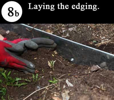 Arraywith FormBoss Metal Garden Edging